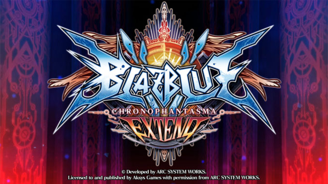 BlazBlue: Chrono Phantasma Extend Free Download